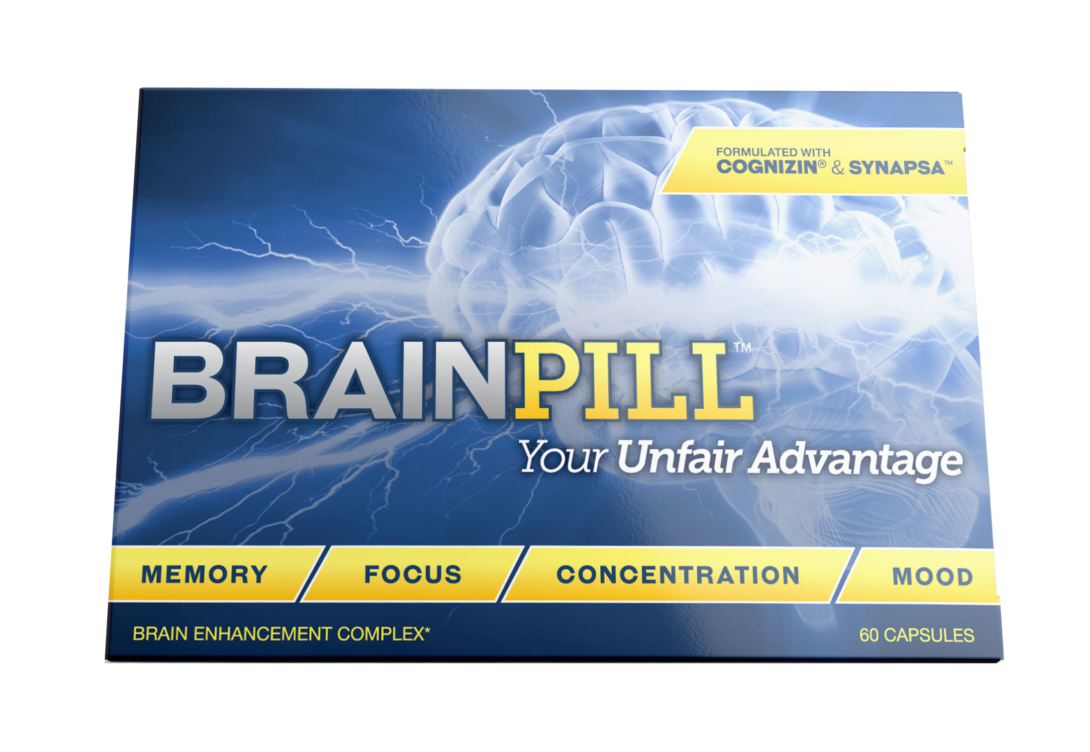 BrainPill for Memory and Focus