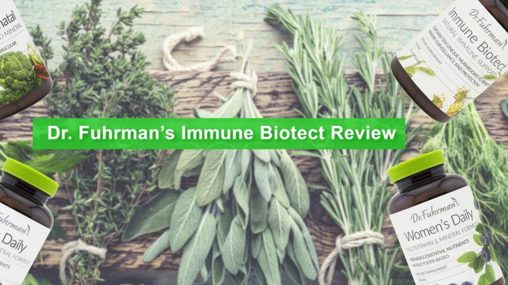 Dr Fuhrman Immune Biotect Review